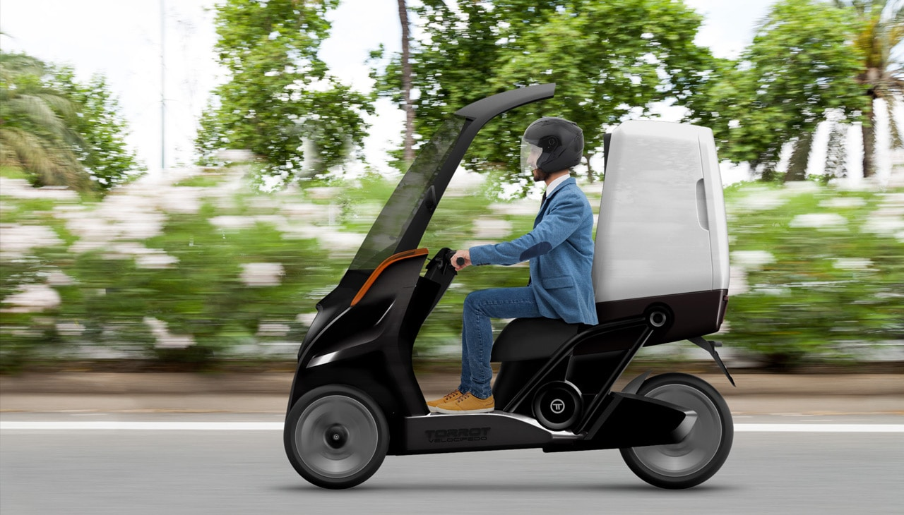 scooter 3 roues velocipedo by torrot green2go. Black Bedroom Furniture Sets. Home Design Ideas