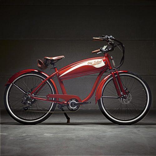choix de vélos old school à Evian